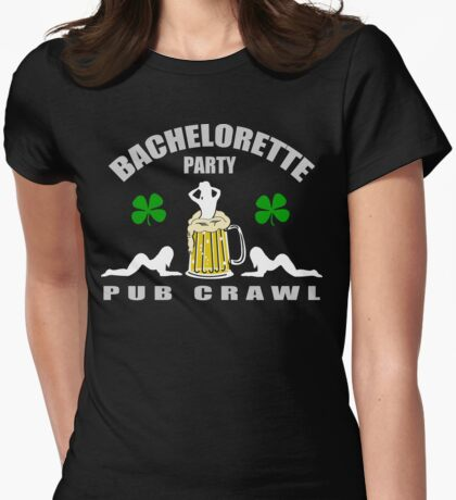 Irish Bachelorette Party Womens Fitted T-Shirt