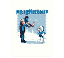 COOL FRIENDSHIP Art Print