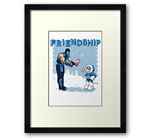 COOL FRIENDSHIP Framed Print