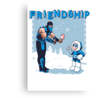 COOL FRIENDSHIP Canvas Print