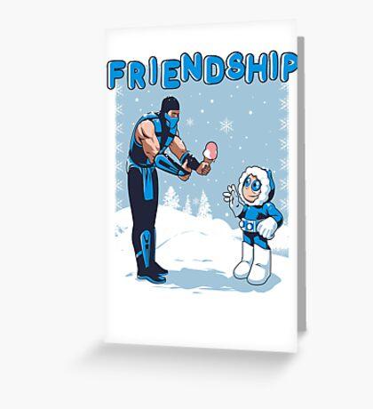 COOL FRIENDSHIP Greeting Card