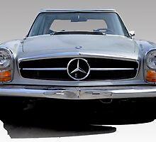 1970 280SL (CARD) by Thomas Barker-Detwiler