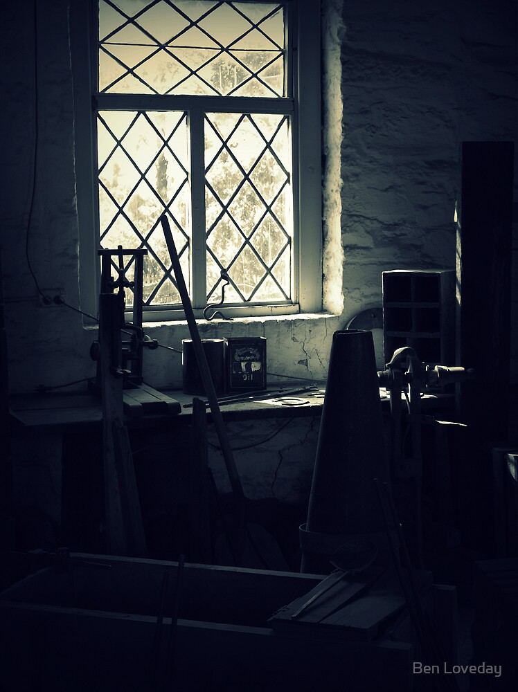 House of Ghosts- The Blacksmith's Shop by Ben Loveday
