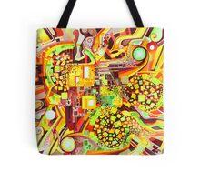 Distortion Sympathy - Watercolor Painting Tote Bag
