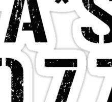 The 4077 Sticker