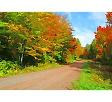 Country Road,......Take Me Home,...... Photographic Print