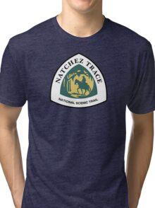 Natchez Trace Trail Sign, Mississippi, USA Tri-blend T-Shirt