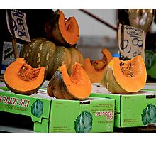 Squash To Go Photographic Print