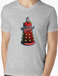 Dalek Kitty Empire Mens V-Neck T-Shirt