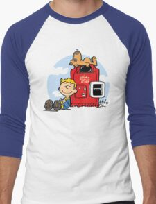 Dogmuts Men's Baseball ¾ T-Shirt