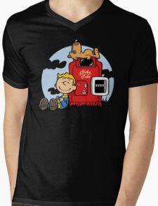 Dogmuts Mens V-Neck T-Shirt