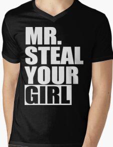 Mr. Steal Your Girl  Mens V-Neck T-Shirt