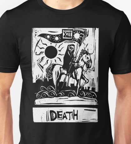 Death Card  - Tarot Cards - Major Arcana Unisex T-Shirt