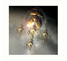 Into The Atmosphere Art Print