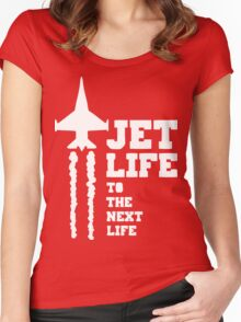 Jet Life Women's Fitted Scoop T-Shirt