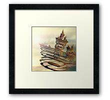 Castles In The Air Framed Print