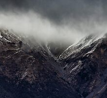 Snow showers on Mount Robert, New Zealand by timboss81