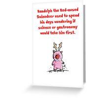Swinedeer Greeting Card