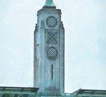 The OXO Tower on London's South Bank by PictureNZ