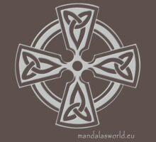 Celtic Cross n6 Lightgrey One Piece - Short Sleeve