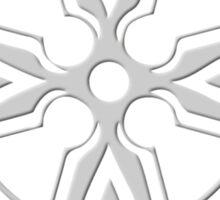 Celtic Cross n6 Lightgrey Sticker