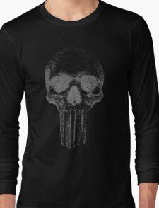 realpunisher Gray Long Sleeve T-Shirt