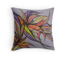 Butterflies in Action Throw Pillow