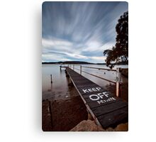 Keep Off - Woy Woy NSW Canvas Print