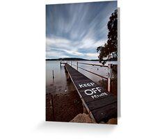 Keep Off - Woy Woy NSW Greeting Card
