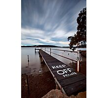 Keep Off - Woy Woy NSW Photographic Print