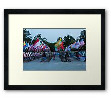 Commemoration of the Korean War Framed Print