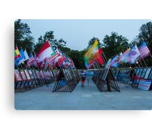Commemoration of the Korean War Canvas Print