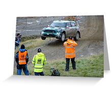 wales rally gb. Greeting Card