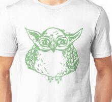 Yoda Owl - Green Unisex T-Shirt