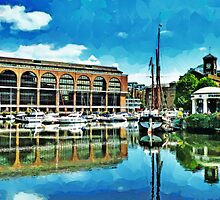 St Katharine Docks by PictureNZ