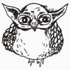 Yoda Owl by annieclayton