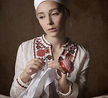 Cross Stitching   by Maria Kanevskaya