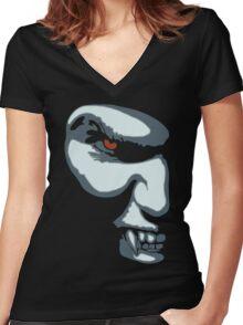 Vampyre Women's Fitted V-Neck T-Shirt