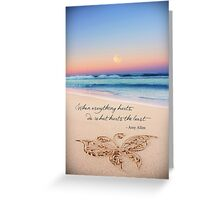 June 2013 - Lost For Words Greeting Card