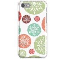 Vintage Snowflake Pattern iPhone Case/Skin