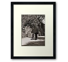 Hilly Beat Framed Print