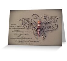 December 2013 - Lost For Words Greeting Card
