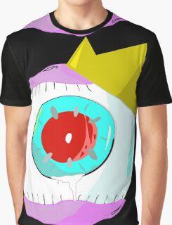 Eyeball Crown Graphic T-Shirt