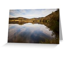 Reflections at Bedlam Greeting Card
