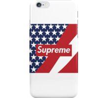 America Supreme Boxlogo iPhone Case/Skin