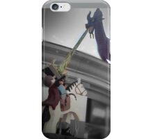 Maleficent and Prince Phillip made from LEGOS iPhone Case/Skin