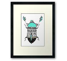 Diamond Cockroach  Framed Print