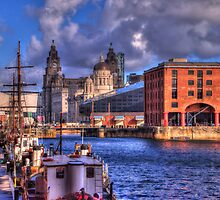 Albert Docks - Liver Building by SimplyScene