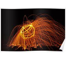 Golden energy Poster