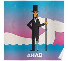 Ahab Poster